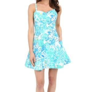 Lilly Pulitzer Willow White Resort Flare dress 6